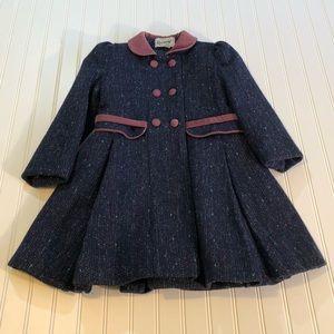 Rothschild Girls Dress Coat